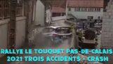 Важкий прохід під час ралі Туке (Франція)
