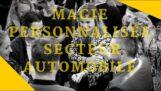 Magia personalizzata, settore automobilistico Lancio della classe A Mercedes Digital magia promozionale