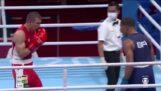बॉक्सर हेबर्ट सूसा ने अपने प्रतिद्वंद्वी को नॉकआउट किया, ओलंपिक में स्वर्ण जीतना