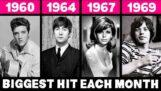 Компіляція найпопулярніших пісень 60 -х років