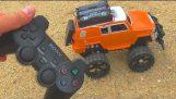 Как да се направи кола радио контрол джойстик Sony PS2