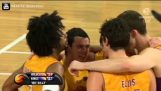 Josh Childress Elbows Jesse Wagstaff – Ejected (NBL 2014)