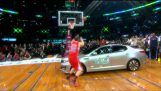 The dunk that won the contest at the NBA All Star Game 2011