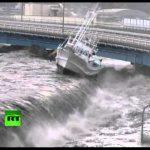 Νέο βίντεο απο το τσουνάμι στην Ιαπωνία