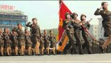 Στρατιωτική παρέλαση στη Βόρεια Κορέα