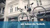 Το πιο σίγουρο αντικλεπτικό σύστημα για ποδήλατα