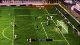 Scopul impresionant în FIFA 11