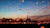 11.000 Lietajúce lampióny