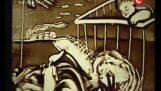 Ksenija Symonowa: Malarstwo z piasku