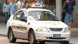 Kortare loppet med taxi