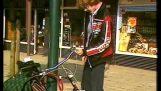 Låst sykkelen