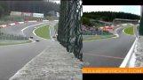 速度比較: Αγώνες GT και Formula 1