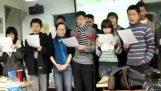 Οι Κινέζοι τραγουδούν Χατζηγιάννη