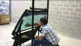 Tasting a bulletproof windshield