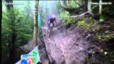 Mountain bike: Η εκπληκτική κατάβαση του Danny Hart
