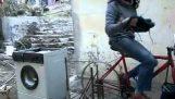 Όταν το πλυντήριο συνάντησε το ποδήλατο