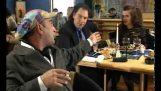 Янис Zouganelis: В елегантен ресторант