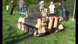 遠端控制的坦克
