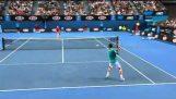 Най-добрият тенис мач в откритото