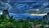En timelapse i smuk Grækenland