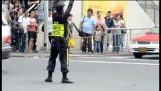 นักเต้นของตำรวจจราจร