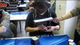 Решаване на куба на Рубик сляпо