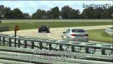 Pilote automatique dans la voiture