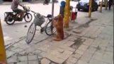 Система безопасности сложные для велосипедов