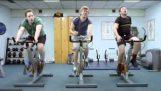 Οι άνδρες στο γυμναστήριο…