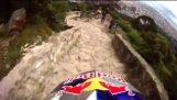 VTT descente Monserrate de Colombie