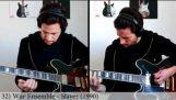 50 διάσημα κομμάτια των 90's στην κιθάρα