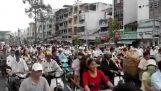 Час пік на вулицях Таїланду