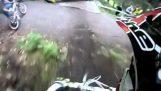 瘋狂超車中自行車賽