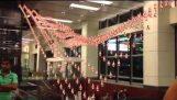 Κινητική γλυπτική στο αεροδρόμιο της Σιγκαπούρης