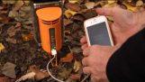 Φόρτισε το κινητό σου με την ενέργεια της φωτιάς