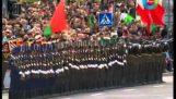 Wspaniały pokaz wojskowej na Białorusi