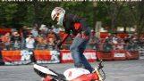 Awesome stunts med maskinen ved Rafal Pasierbek