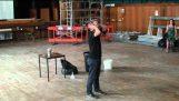 Υγρό άζωτο και 1500 μπαλάκια του πινγκ πονγκ