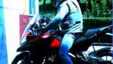 Αερόσακος για μοτοσικλέτες