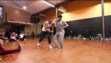 Две малко вероятно танцьори