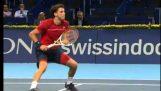 Εντυπωσιακή βολή στο τένις από τον Grigor Dimitrov