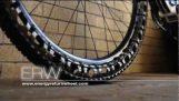 自転車タイヤ空気なし