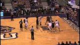 बास्केटबॉल मैच में सबसे ज्यादा फेंक मुफ्त