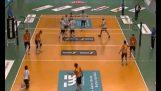 Le clou final dans volley-ball