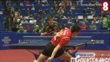 乒乓球: Οι πιο απίθανοι πόντοι του 2012