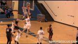 用一隻手不太可能的籃球運動員