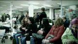 Flashmob на безработните в Испания