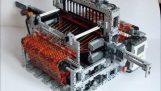Вязальная машина из Лего