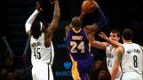 Fantastische spijkeren van Kobe Bryant