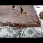 Δαμάζοντας τα κύματα στην Κίμωλο